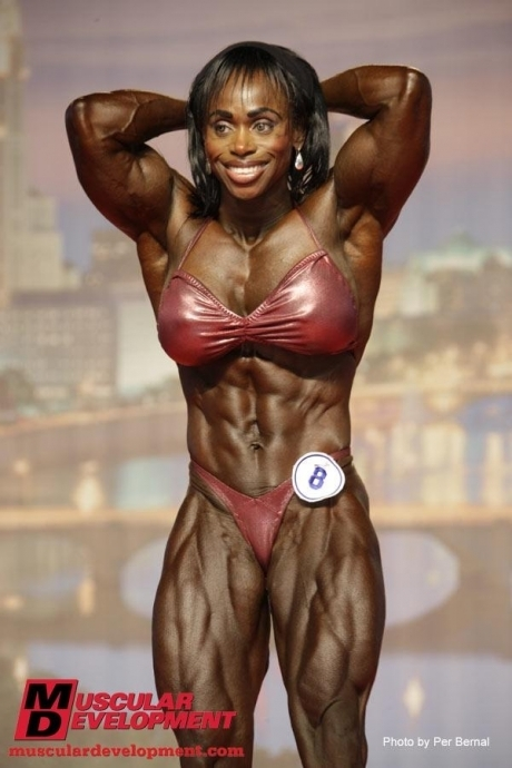 female bodybuilder steroids